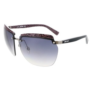 Just Cavalli Just Cavalli Black/Purple Rimless Square Sunglasses
