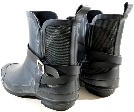 Burberry Black/Charcoal Boots Image 2