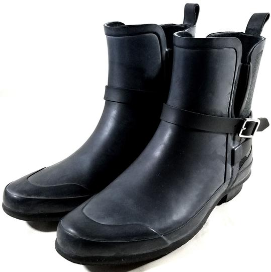 Burberry Black/Charcoal Boots Image 4