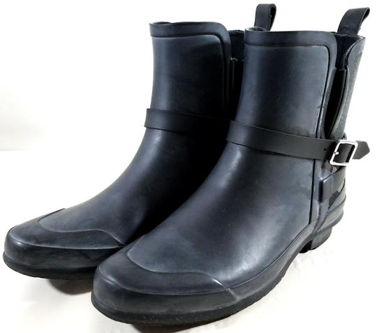 Burberry Black/Charcoal Boots Image 6