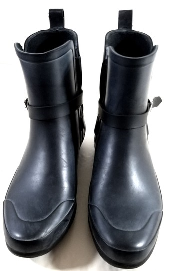 Burberry Black/Charcoal Boots Image 7