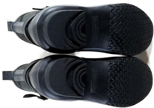 Burberry Black/Charcoal Boots Image 8