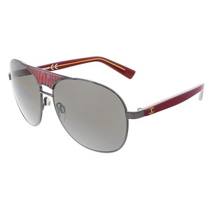 Just Cavalli Just Cavalli Black/Red Aviator Sunglasses