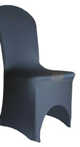160 Black Spandex Chair Covers