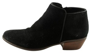Crown Vintage Casual Suede Comfortable black Boots