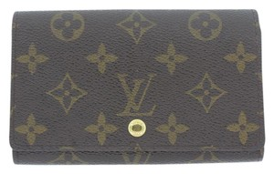 Louis Vuitton Louis Vuitton Monogram Bifold Tresor Wallet N61730 LV
