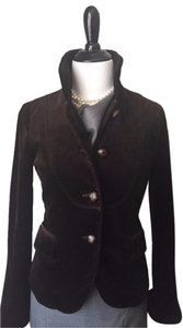 J.Crew Velvet Riding Bella Brown Blazer