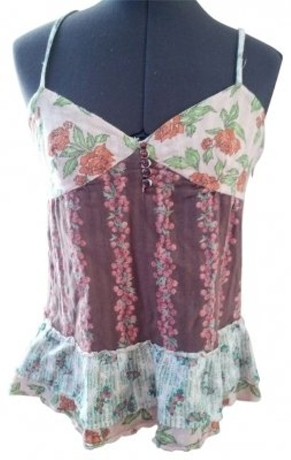 Preload https://item5.tradesy.com/images/free-people-printed-layered-rose-tank-topcami-size-6-s-20654-0-0.jpg?width=400&height=650