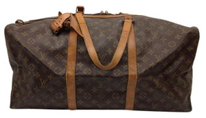 Louis Vuitton Lv Sac Souple Lv Sac Souple 55 Brown Travel Bag