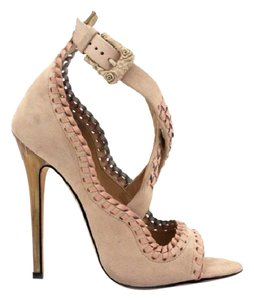 Marchesa cream Pumps