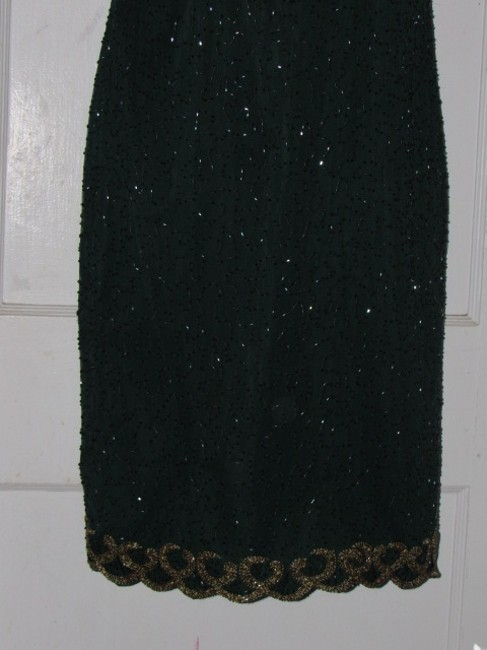 Other Like New- Worn Once Silk Beading Mod Retro Look One Of A Excellent Vintage Dress Image 3