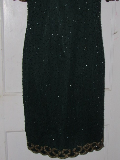 Other Like New- Worn Once Silk Beading Mod Retro Look One Of A Excellent Vintage Dress Image 6