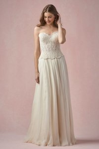 Wtoo Ivory/Oatmeal Willowby Grace 55545 Skirt Only Wedding Dress Size 10 (M)