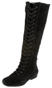 Nine West Suede Knee High black Boots