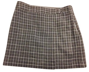 Ann Taylor LOFT Skirt Dark Charcoal/gray