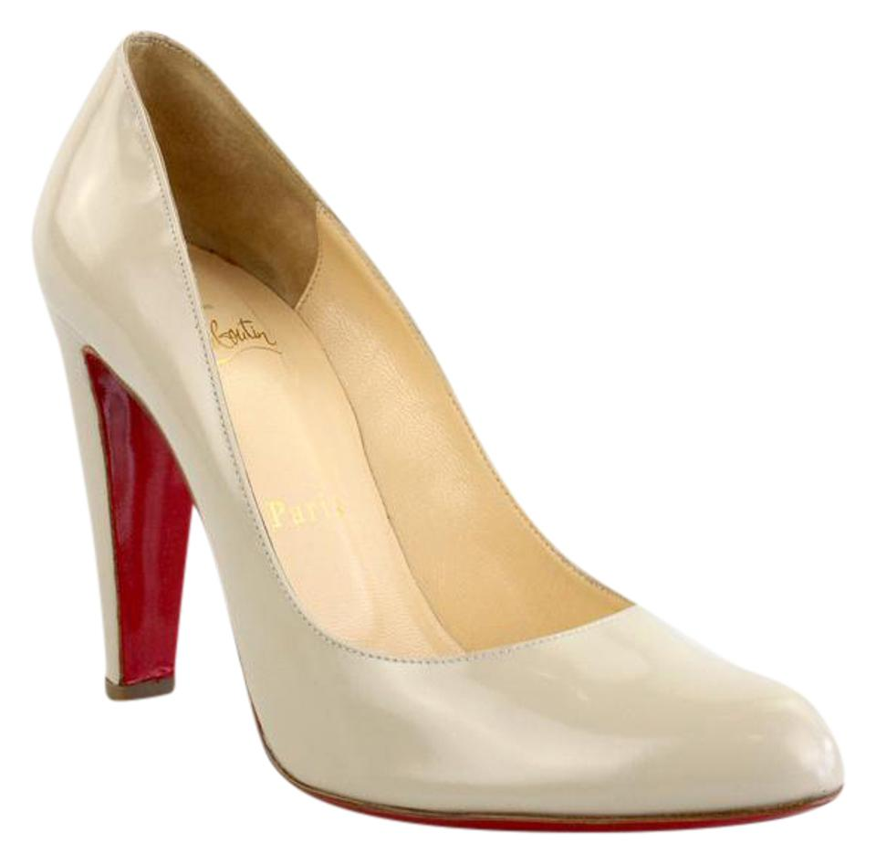 bc01f485d5 Christian Louboutin Colombe Decollete 312 100 Jazz Calf Pumps Size ...