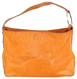 Kooba Summer Spring Metallic Hardware Rocker Shoulder Bag