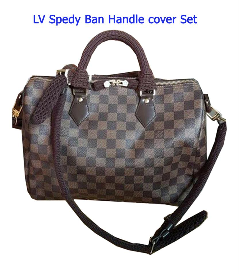 8ca641fbf4ec Other Crochet Handle   long strap Covers for Louis Vuitton Speedy  Bandoulier Image 0 ...