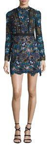 self-portrait Lace Mini Floral Maxine Dress