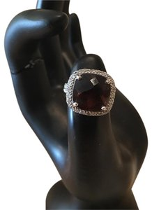 Other silver purple gemstone ring
