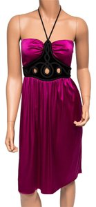 Ingwa Melero Halter Nwt Charmeuse Silk Dress