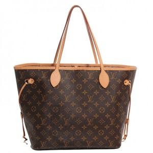 Louis Vuitton Leather Luxury European Tote in Monogram