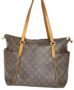 Louis Vuitton Lv Totally Mm Canvas Shoulder Bag