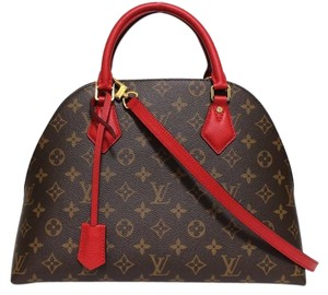 Louis Vuitton B N B Alma B N B Red Alma Alma Monogram Shoulder Bag