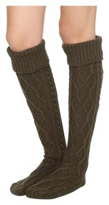 Free People Over The Knee Cozy Cable Socks