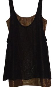 BCBGeneration short dress Black and Gold on Tradesy