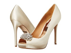 Badgley Mischka Jeannie Wedding Shoes