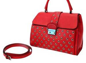 RED Valentino Satchel in Red