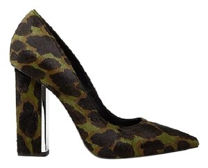 AllSaints Pony Camo Chucky green Pumps