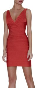Hervé Leger Bandage Stretch Dress