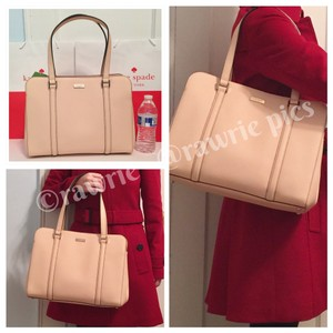 Kate Spade Structured Large Saffiano Leather Classic Tote Shoulder Bag