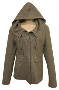 Theory Hooded Spring Grey Jacket