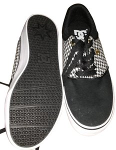 DC Shoes Houndstooth Checkered Dc Black White Athletic