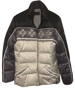 Bogner black and silver/gray Jacket