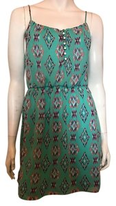 Hello miss dress short dress green on Tradesy