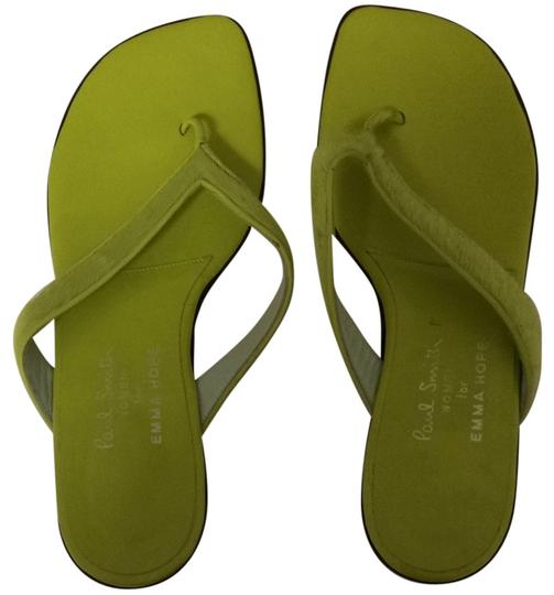 Paul Smith Green Sandals
