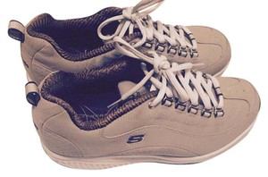 Skechers Tone Up Toning Beige and white Athletic