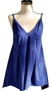 Rue 21 #fauxsuede #flowy #camisole #nwot #pleated Top Blue