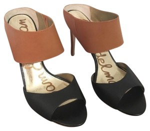 Sam Edelman Black & Tan Mules