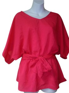 New York & Company Top bright pink