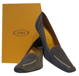 Tod's Smoke Grey Pumps