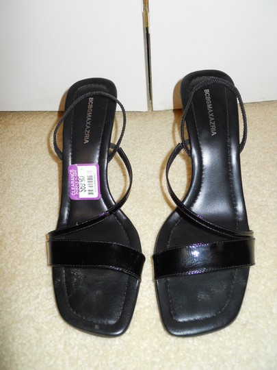 BCBGMAXAZRIA Leather black Wedges