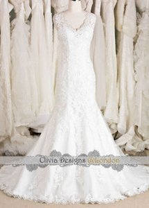 Beading Keyhole Mermaid Wedding Dress W514 Wedding Dress