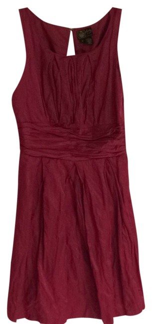 Preload https://item1.tradesy.com/images/plenty-by-tracy-reese-red-cocktail-dress-size-12-l-2065745-0-0.jpg?width=400&height=650