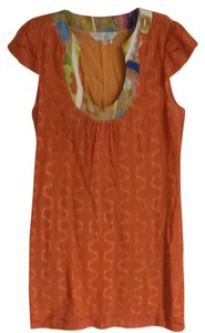 Trina Turk short dress Orange on Tradesy