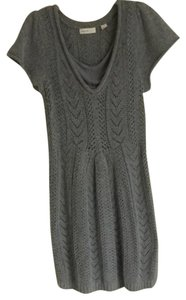 Sleeping on snow short dress Grey on Tradesy